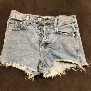Current/Elliott jean shorts